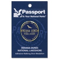 Indiana Dunes Passport Hiking Medallion