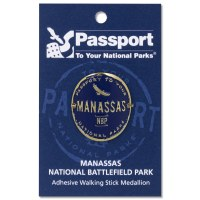 Manassas Passport Hiking Medallion