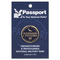 Fredericksburg Passport Pin