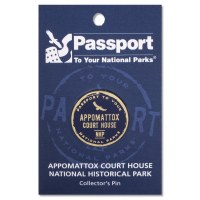 Appomattox Court House Passport Pin