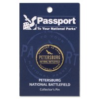 Petersburg Passport Pin