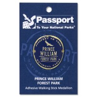 Prince William Forest Passport Hiking Medallion
