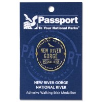 New River Gorge Passport Hiking Medallion