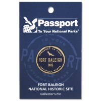 Fort Raleigh Passport Pin