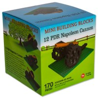Napoleon Cannon Mini Blocks