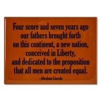 Four Score Magnet