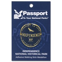 Independence Passport Hiking Medallion