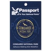 Congaree Passport Hiking Medallion