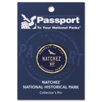 Natchez Passport Pin