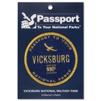 Vicksburg Passport Patch