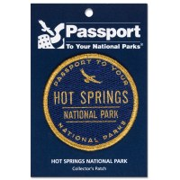 Hot Springs Passport Patch