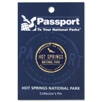 Hot Springs Passport Pin
