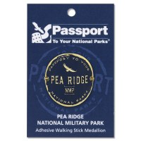 Pea Ridge Passport Hiking Medallion