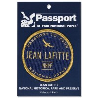 Jean Lafitte Passport Patch