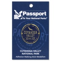 Cuyahoga Valley Passport Hiking Medallion