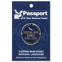 Sleeping Bear Passport Hiking Medallion