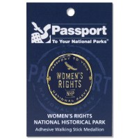 Women's Rights Passport Hiking Medallion