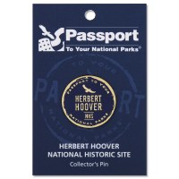 Herbert Hoover Passport Pin