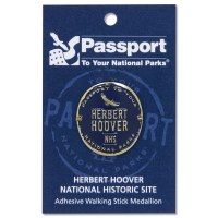 Herbert Hoover Passport Hiking Medallion