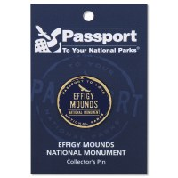 Effigy Mounds Passport Pin