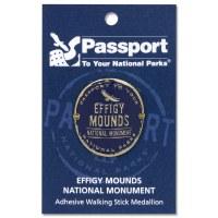 Effigy Mounds Passport Hiking Medallion