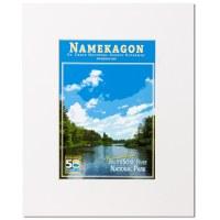 Namekagon Anniversary Matted Print 11x14