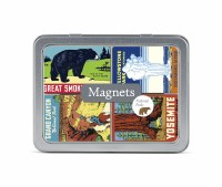 National Park Magnet Set