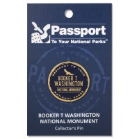 Booker T Washington Passport Pin