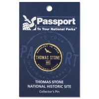Thomas Stone Passport Pin