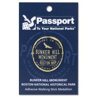 Bunker Hill Passport Hiking Medallion
