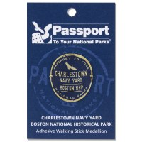 Charlestown Navy Yard Passport Hiking Medallion