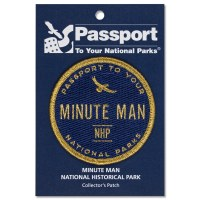 Minute Man Passport Patch