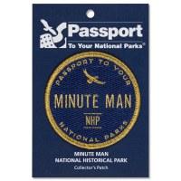 Minute Man Passport Patch
