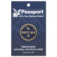 Minute Man Passport Pin