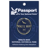 Minute Man Passport Hiking Medallion