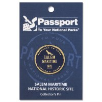 Salem Maritime Passport Pin