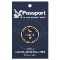 Lowell Passport Pin