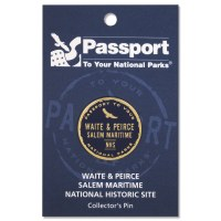 Waite & Peirce Passport Pin