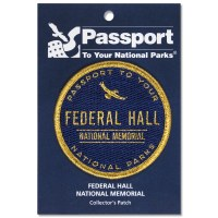 Federal Hall Passport Patch