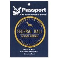 Federal Hall Passport Patch
