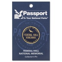 Federal Hall Passport Pin