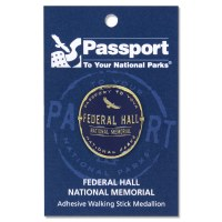 Federal Hall Passport Hiking Medallion