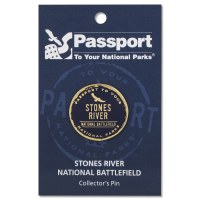 Stones River Passport Pin