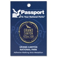 Grand Canyon Passport Hiking Medallion