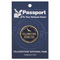 Passport Pin Yellowstone
