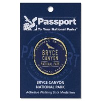 Bryce Canyon Passport Hiking Medallion