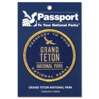Grand Teton Passport Patch