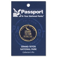 Passport Pin Grand Teton