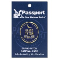 Grand Teton Passport Hiking Medallion