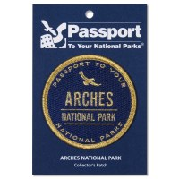 Arches Passport Patch